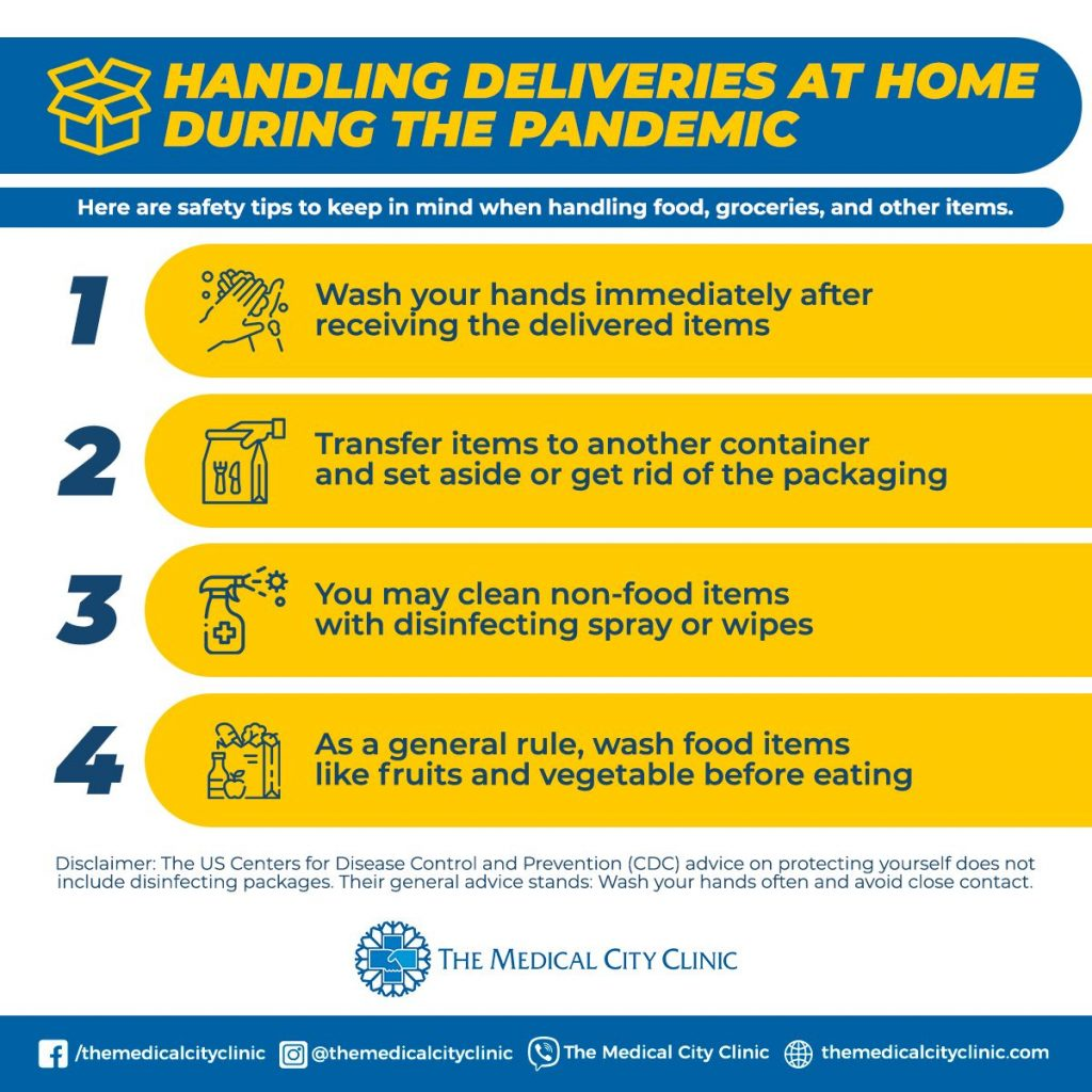 Handling Deliveries at Home During the COVID-19 Pandemic